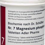 Schüßler-Salze 7: Magnesium phosphoricum